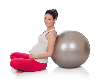 Fitline gravid-ball pilates